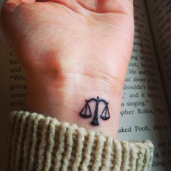 51 Irresistible Libra Tattoos With History Meaning