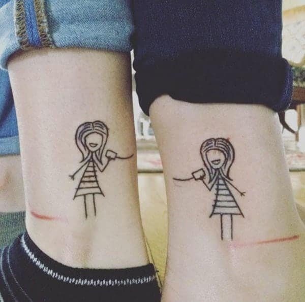 fd3ec0bc3 130 Inspiring Sister Tattoos That You Will Love