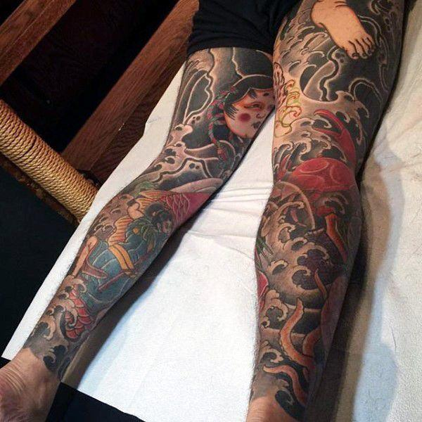 c2bd62843c53e 108 Amazing Japanese Tattoos That Are Very Cultural