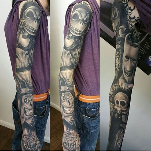 125 Fantastic Half And Full Sleeve Tattoos For 2020