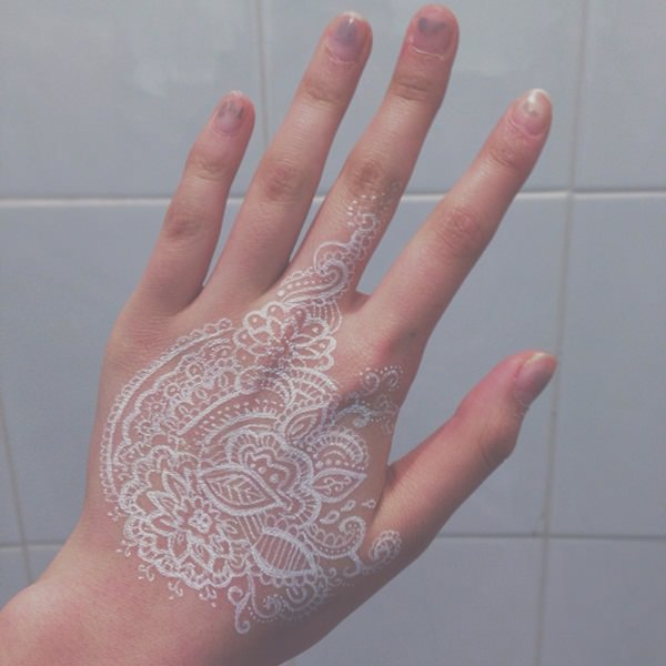 75 Striking White Ink Tattoos That Are Sure to Stand Out