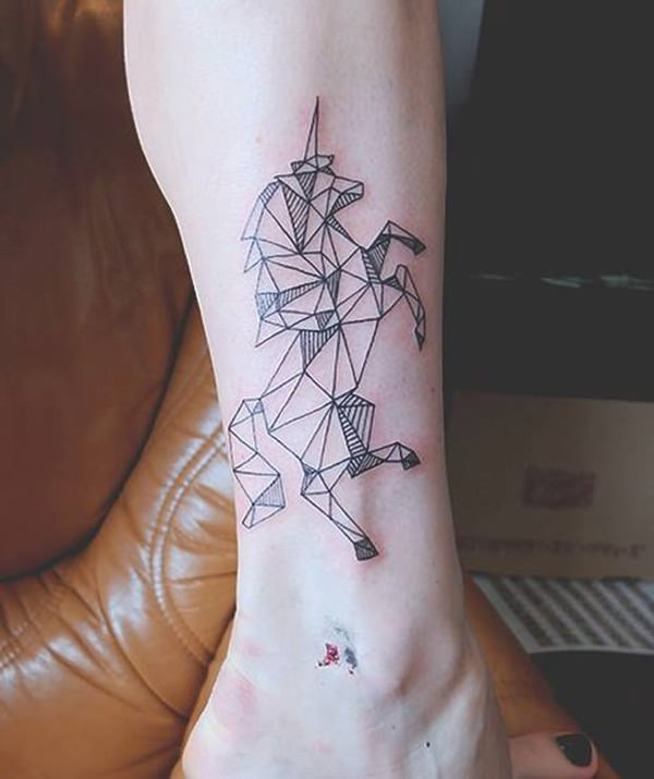 67 Intriguing Unicorn Tattoos Designs