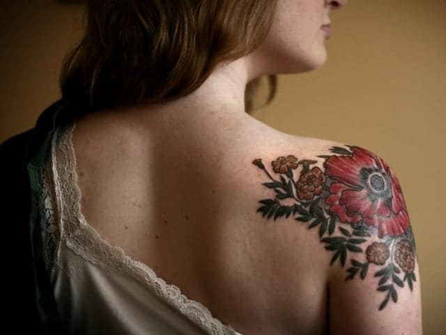 f79ffe30d 101 Beautiful Floral Tattoos Designs that Will blow your Mind