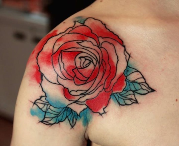 Beautiful Floral Tattoos Designs that'll blow your Mind0011