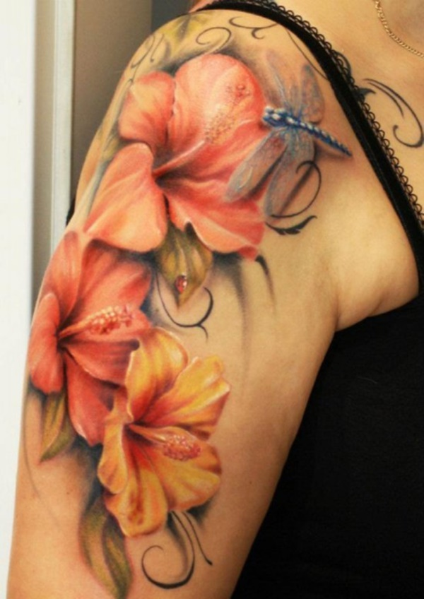 Beautiful Floral Tattoos Designs that'll blow your Mind0271