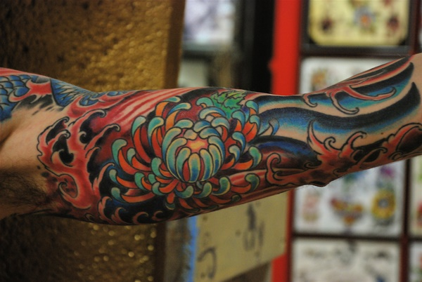 Beautiful Floral Tattoos Designs that'll blow your Mind0381