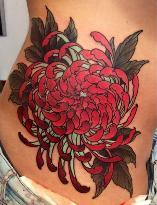 Beautiful Floral Tattoos Designs that'll blow your Mind0391