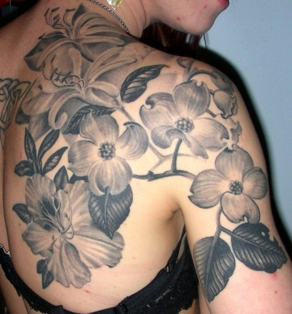 Beautiful Floral Tattoos Designs that'll blow your Mind0441