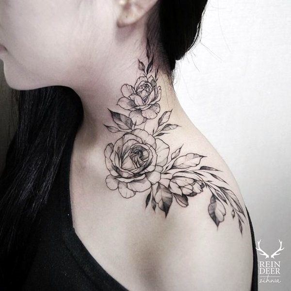 Tattoo For Womens Neck: 25 Best Places To Get Tattoos On Your Body