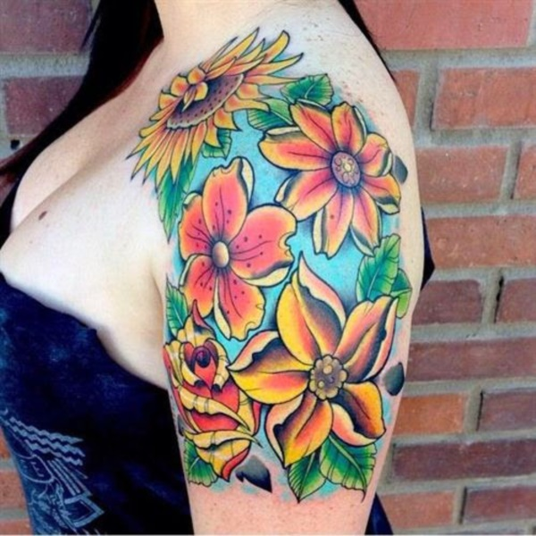 Floral Tattoos Designs that'll blow your Mind0031