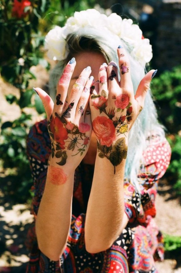 Floral Tattoos Designs that'll blow your Mind0061