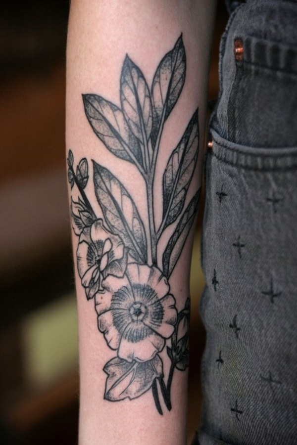 Floral Tattoos Designs that'll blow your Mind0091