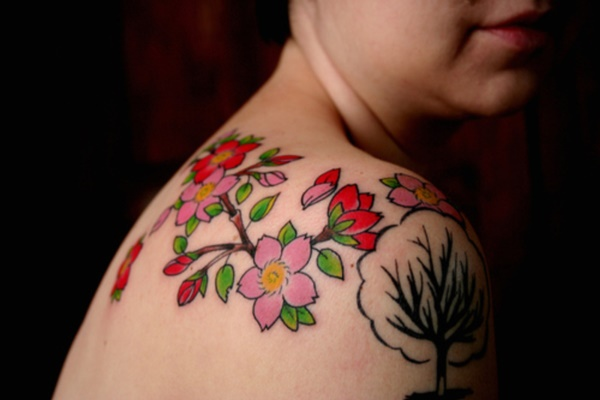Floral Tattoos Designs that'll blow your Mind0111