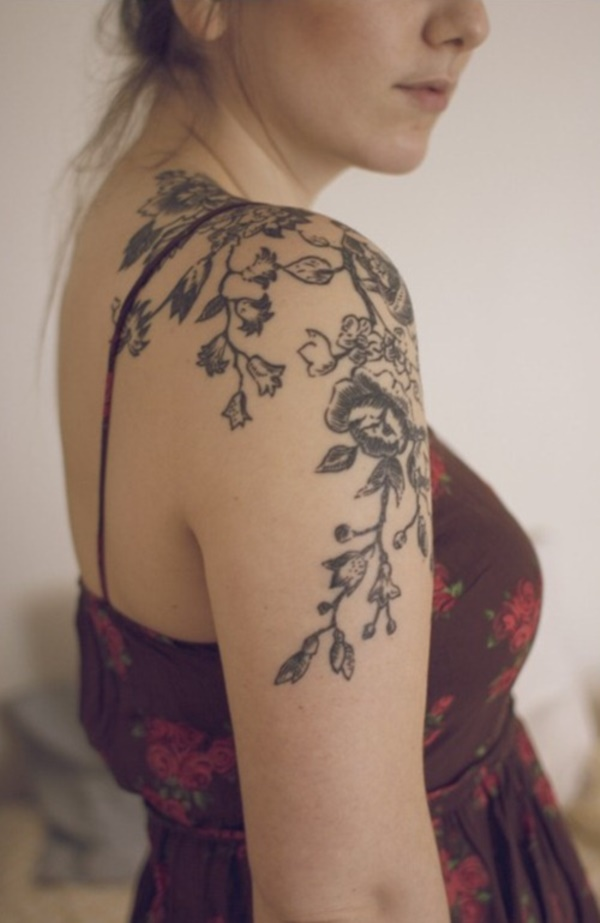 Floral Tattoos Designs that'll blow your Mind0131