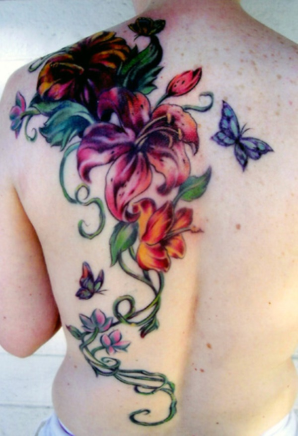 0a45d8a4c 101 Beautiful Floral Tattoos Designs that Will blow your Mind