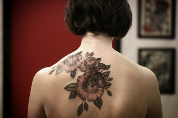 Floral Tattoos Designs that'll blow your Mind0161