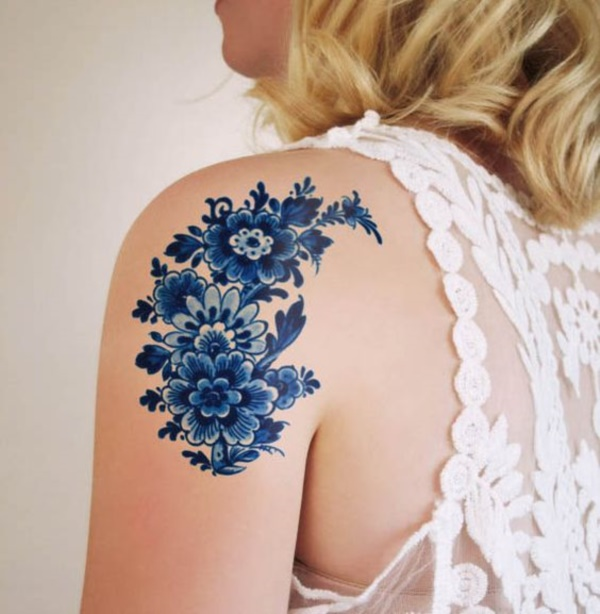 Floral Tattoos Designs that'll blow your Mind0231