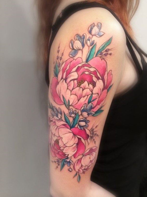 Floral Tattoos Designs that'll blow your Mind0251