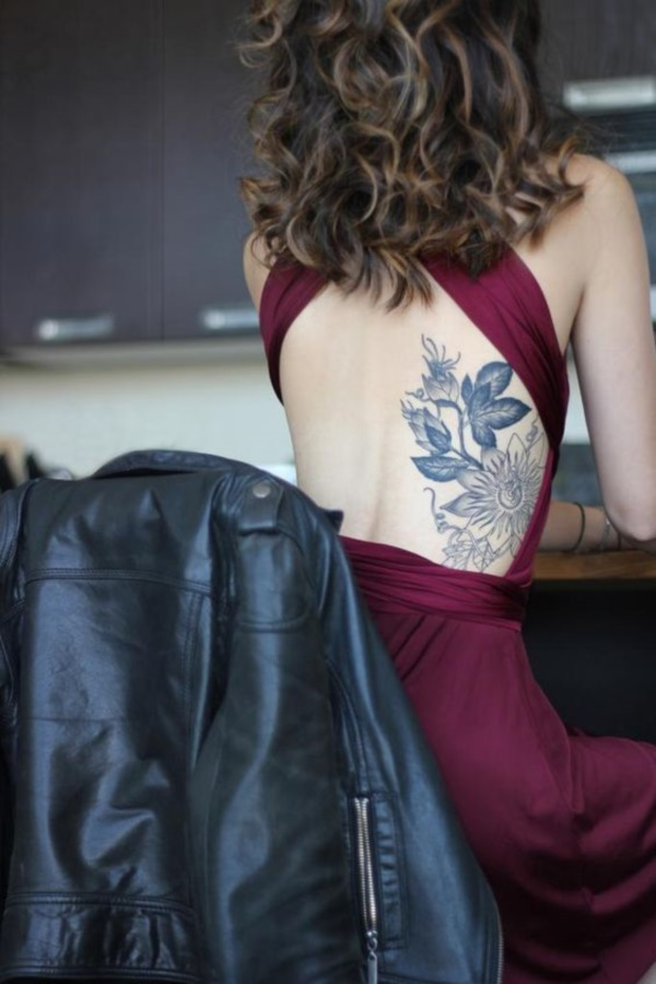 Floral Tattoos Designs that'll blow your Mind0271