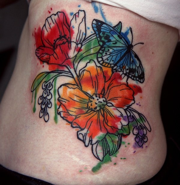 Floral Tattoos Designs that'll blow your Mind0301