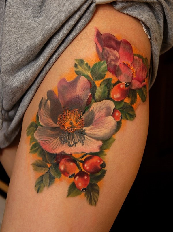 Floral Tattoos Designs that'll blow your Mind0331
