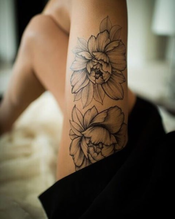 Floral Tattoos Designs that'll blow your Mind0381