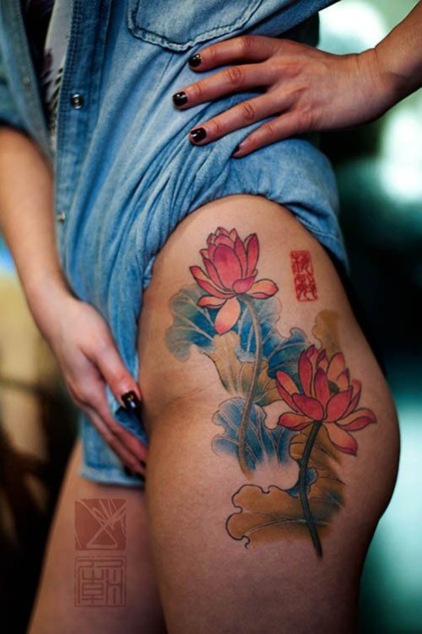 Floral Tattoos Designs that'll blow your Mind0441