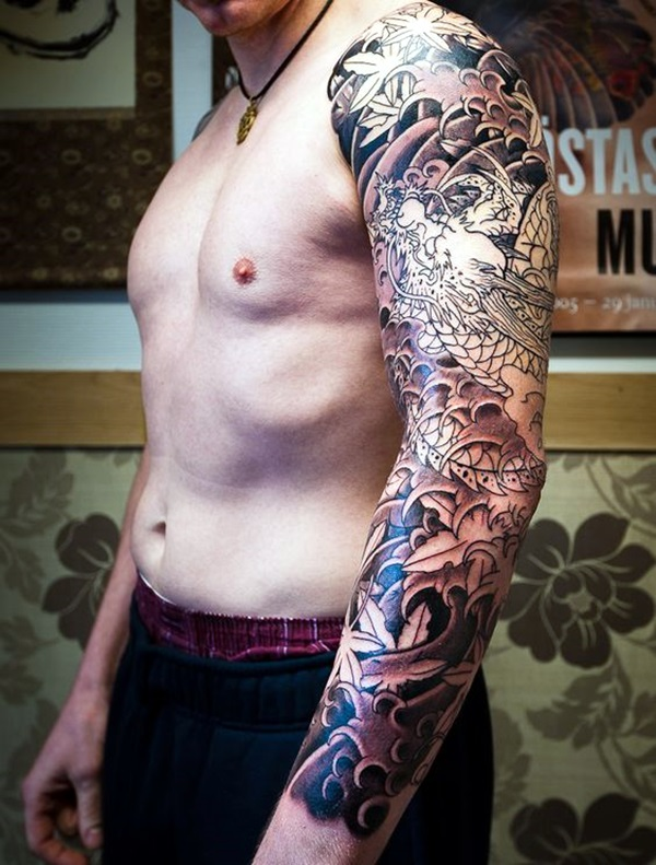 Tattoo Sleeve Ideas and Designs (1)