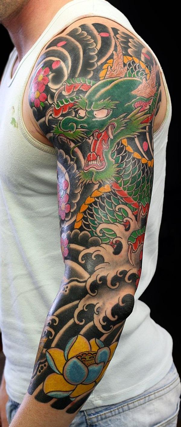 Quarter Sleeve Tattoo For Women