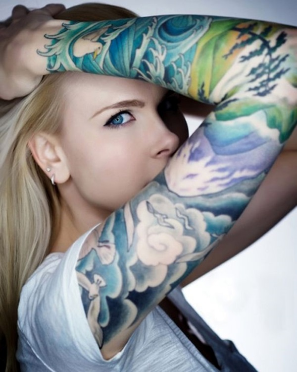 Tattoo Sleeve Ideas and Designs (4)