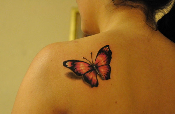 101 cute butterfly tattoo designs to get that charm. Black Bedroom Furniture Sets. Home Design Ideas