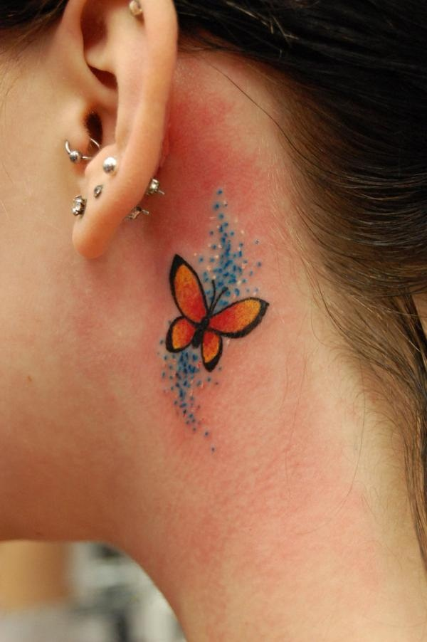 Cute Butterfly tattoo designs10