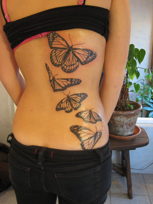 Cute Butterfly tattoo designs12