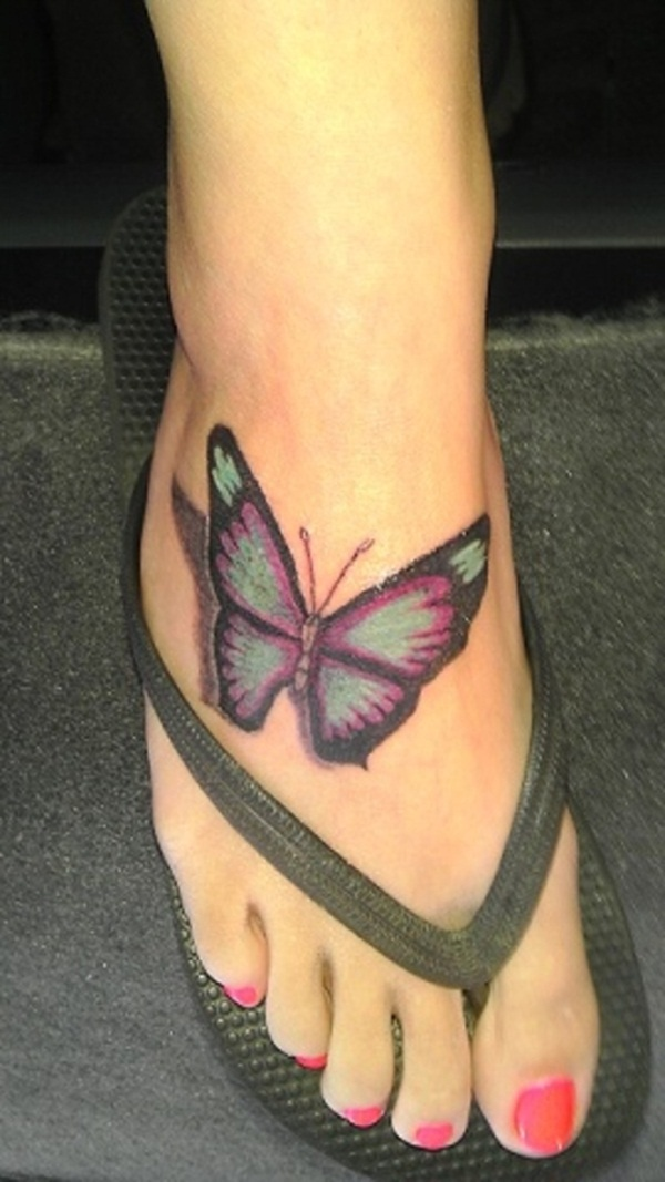 Cute Butterfly tattoo designs13
