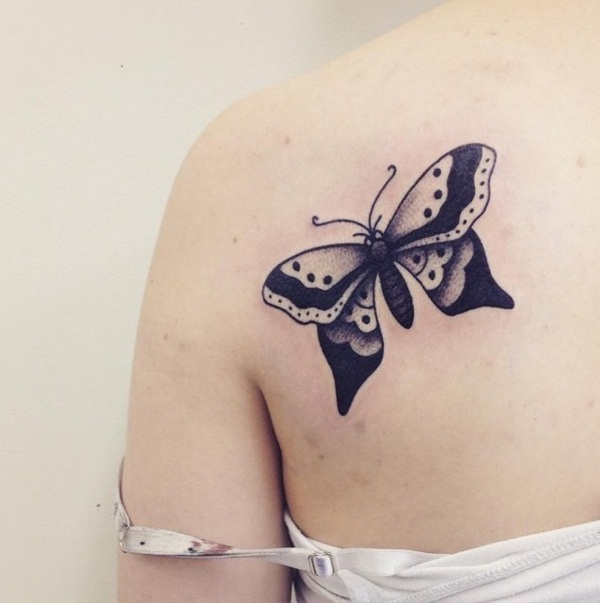 Cute Butterfly tattoo designs19