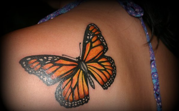 Cute Butterfly tattoo designs2