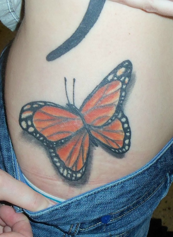 4d60654b7 101 Cute Butterfly Tattoo Designs to get that Charm