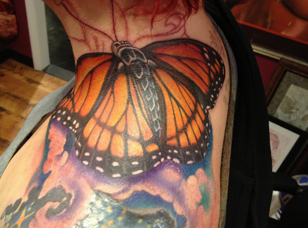 Cute Butterfly tattoo designs3