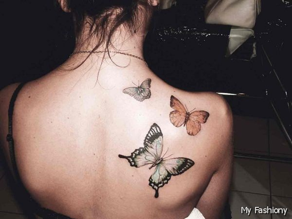 Cute Butterfly tattoo designs31