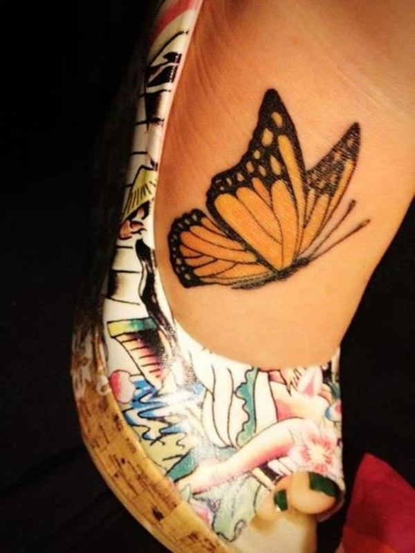 Cute Butterfly tattoo designs37