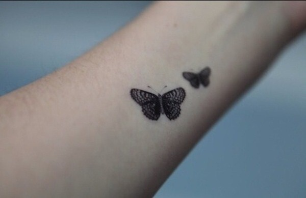 Cute Butterfly tattoo designs38