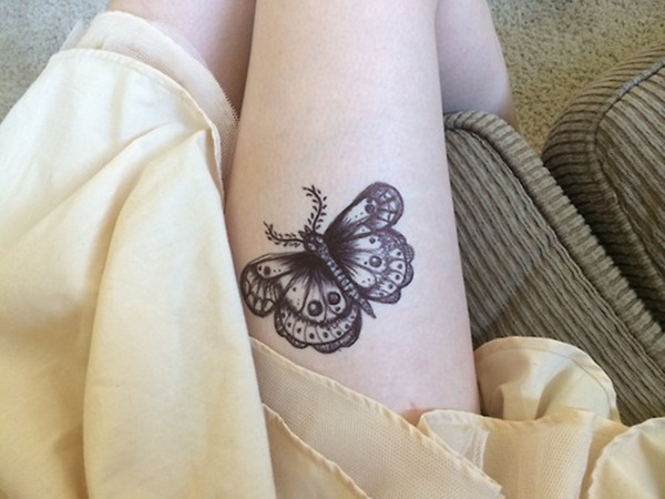 Cute Butterfly tattoo designs41