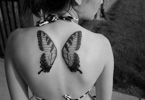 Cute Butterfly tattoo designs42