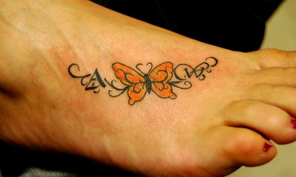 Cute Butterfly tattoo designs44