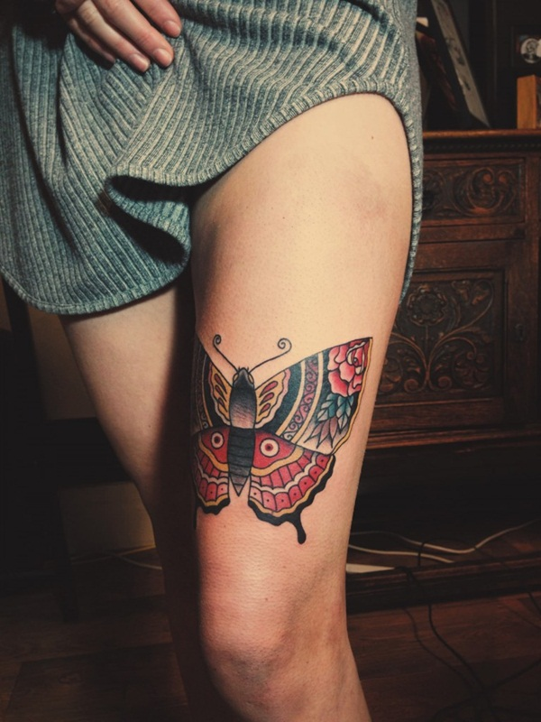 Cute Butterfly tattoo designs45