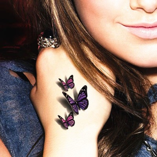 Cute Butterfly tattoo designs51