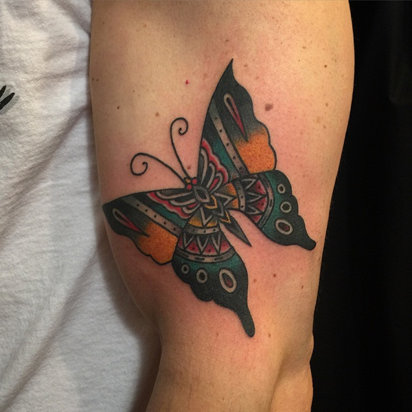 Cute Butterfly tattoo designs52