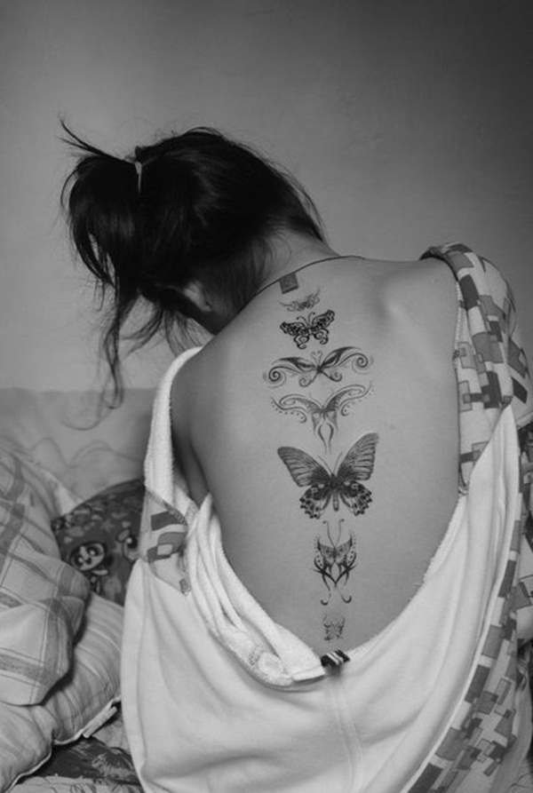 Cute Butterfly tattoo designs58