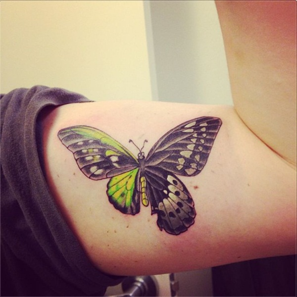Cute Butterfly tattoo designs59