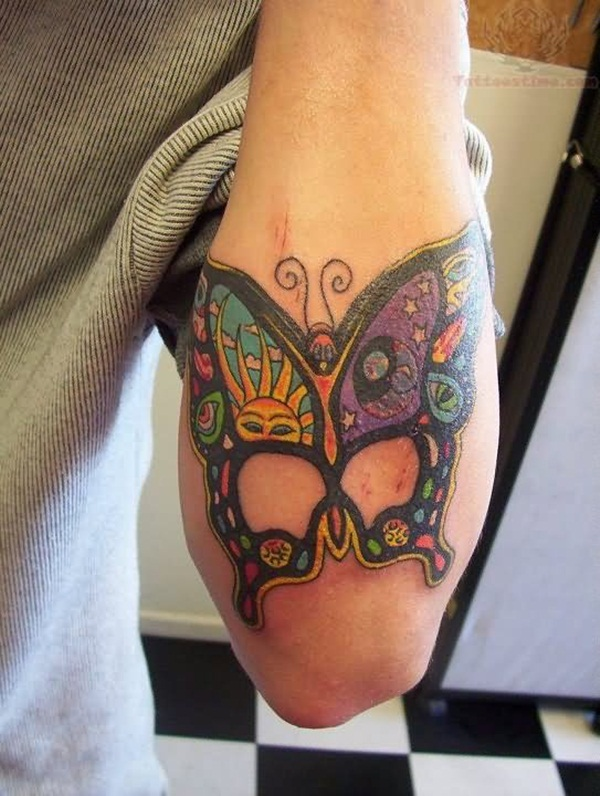 Cute Butterfly tattoo designs60